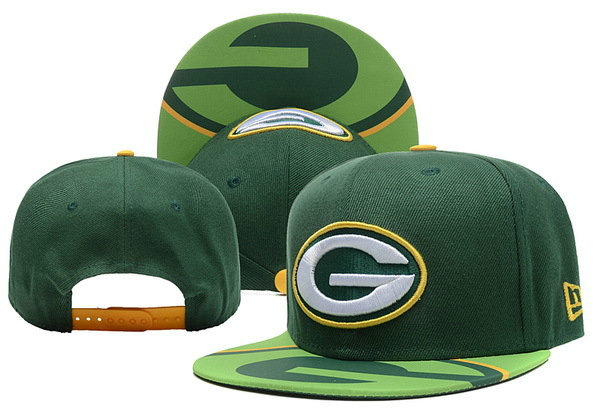Green Bay Packers Snapback Hat XDF 0526