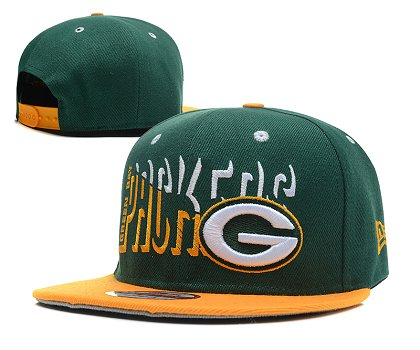 Green Bay Packers Snapback Hat SD 1s02