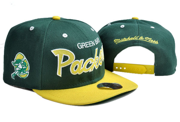 Green Bay Packers NFL Snapback Hat TY 4