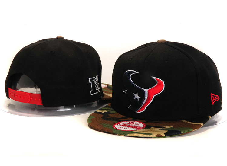 Houston Texans Black Snapback Hat YS