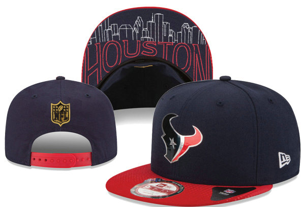 Houston Texans Snapback Navy Hat XDF 0620