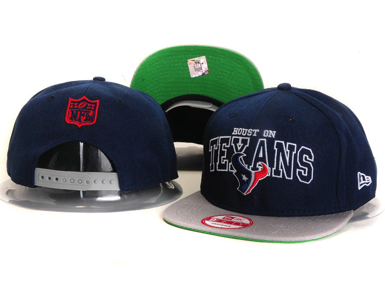 Houston Texans Blue Snapback Hat YS