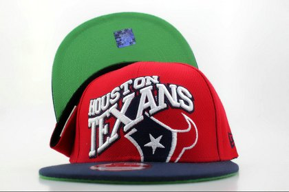 Houston Texans NFL Snapback Hat QH4a