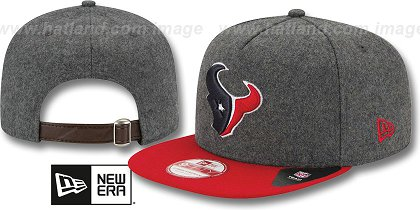 Houston Texans-Melton Snapback Hat SF 12