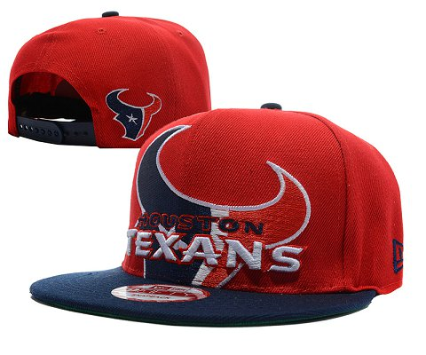 Houston Texans NFL Snapback Hat SD2