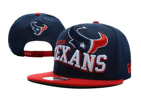 Houston Texans NFL Snapback Hat TY 1