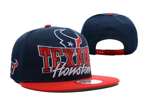 Houston Texans NFL Snapback Hat TY 2