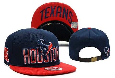 Houston Texans NFL Snapback Hat XDF131