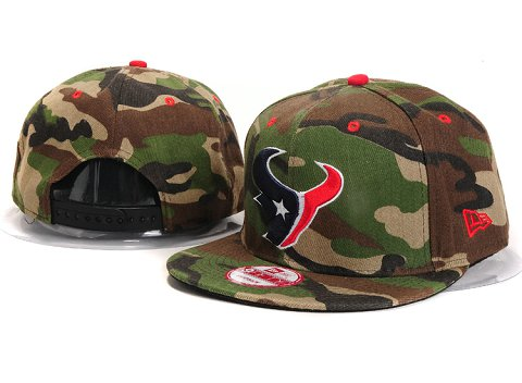 Houston Texans NFL Snapback Hat YX286