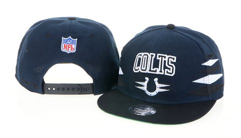 Indianapolis Colts NFL Snapback Hat 60D1