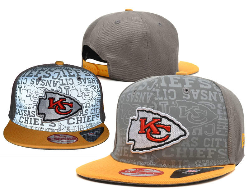 Kansas City Chiefs Reflective Snapback Hat SD 0721
