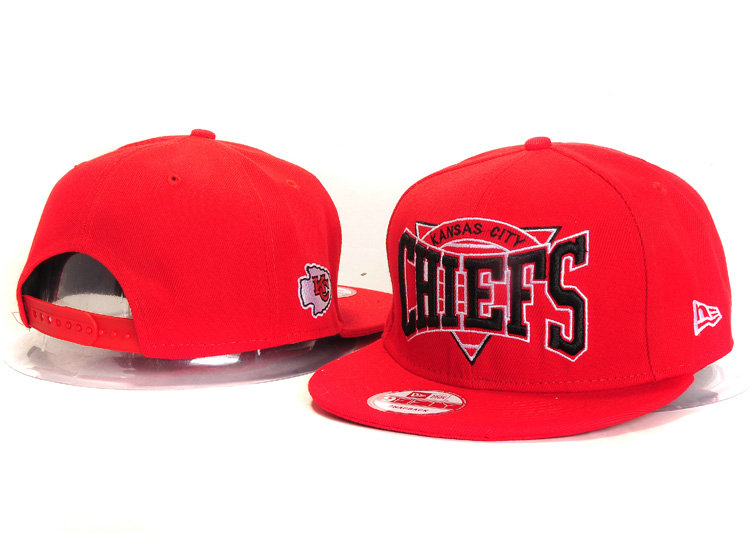 Kansas City Chiefs Red Snapback Hat YS