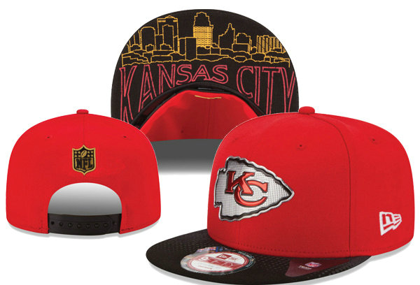 Kansas City Chiefs Snapback Red Hat XDF 0620