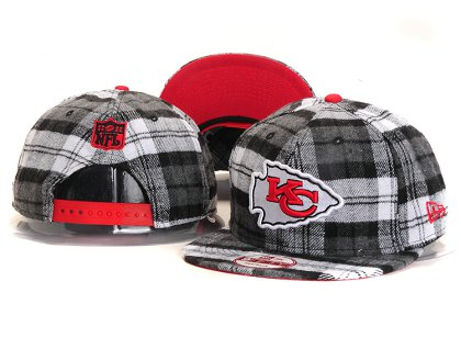 Kansas City Chiefs New Type Snapback Hat YS 6R07