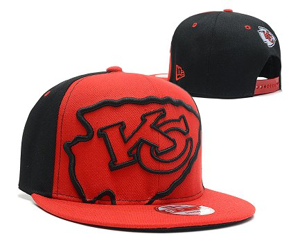 Kansas City Chiefs Snapback Hat 103SD 09