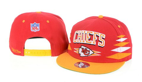 Kansas City Chiefs NFL Snapback Hat 60D1