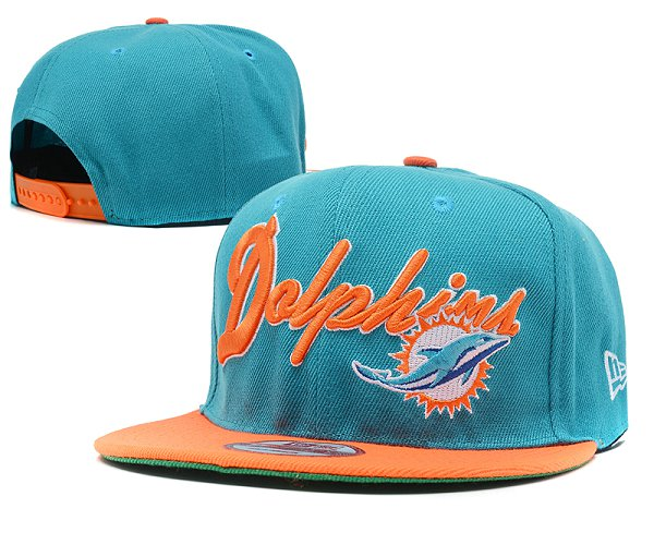 Miami Dolphins NFL Snapback Hat SD 2314