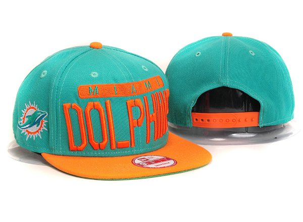 Miami Dolphins Snapback Hat YS 5615