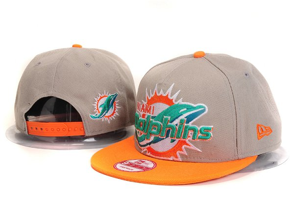 Miami Dolphins Snapback Hat YS 7615