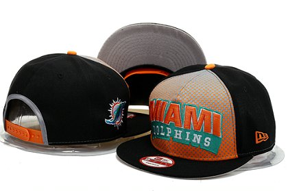 Miami Dolphins Snapback Hat YS F 140802 08