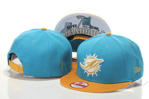 Miami Dolphins Snapback Green Hat 1 GS 0620
