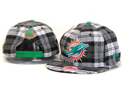 Miami Dolphins New Type Snapback Hat YS 6R65