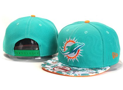 Miami Dolphins New Type Snapback Hat YS A703