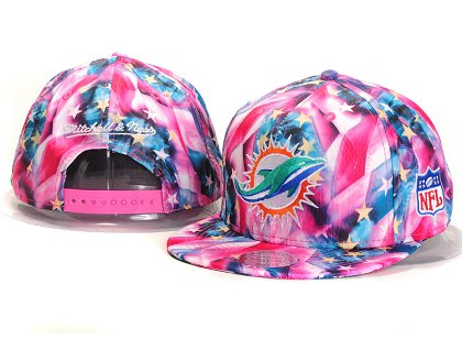Miami Dolphins New Type Snapback Hat YS A707
