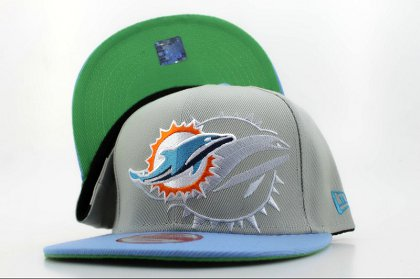 Miami Dolphins Snapback Hat QH a