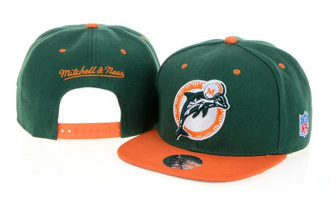 Miami Dolphins NFL Snapback Hat 60D1