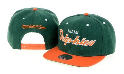 Miami Dolphins NFL Snapback Hat 60D2