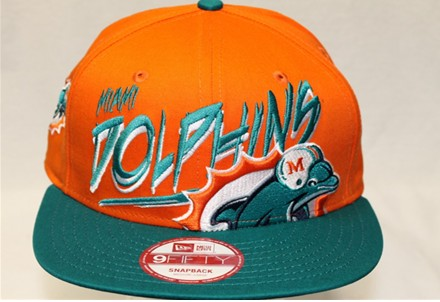 Miami Dolphins NFL Snapback Hat 60D3