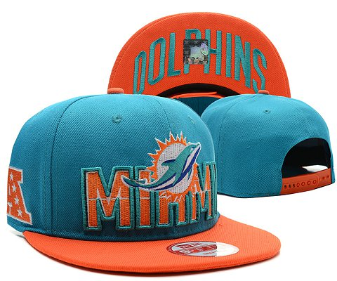 Miami Dolphins NFL Snapback Hat SD4