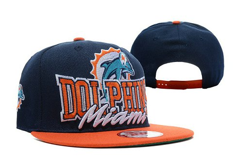 Miami Dolphins NFL Snapback Hat TY 3
