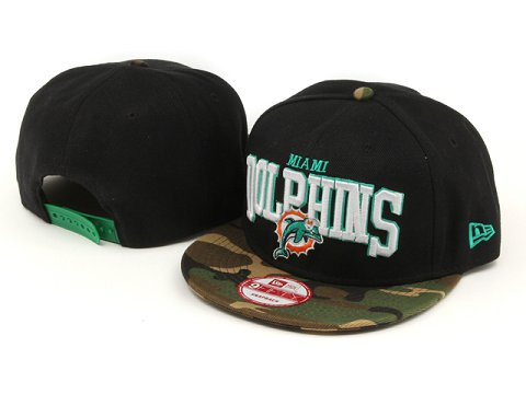Miami Dolphins NFL Snapback Hat YX214
