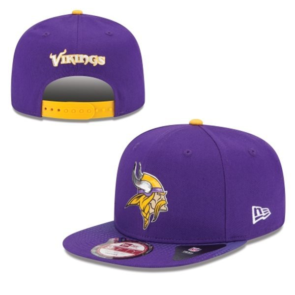 Minnesota Vikings Snapback Purple Hat 1 XDF 0620