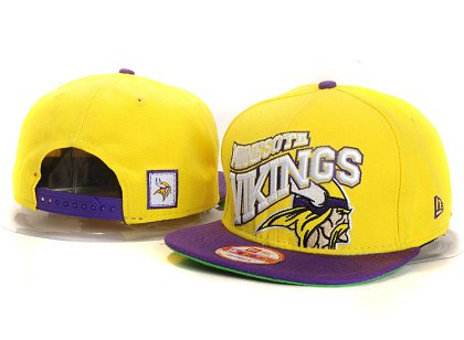 Minnesota Vikings New Type Snapback Hat YS 6R54