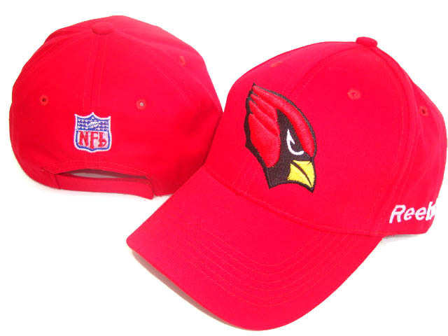 Arizona Cardinals Red Peaked Cap DF 0512
