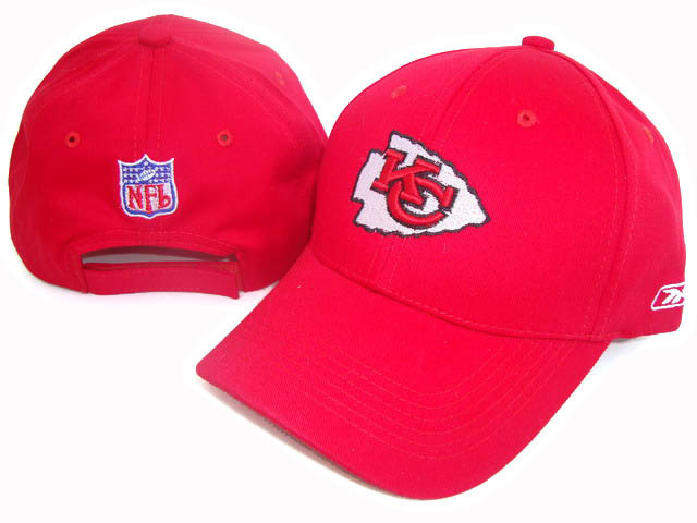 Kansas City Chiefs Red Peaked Cap DF 0512