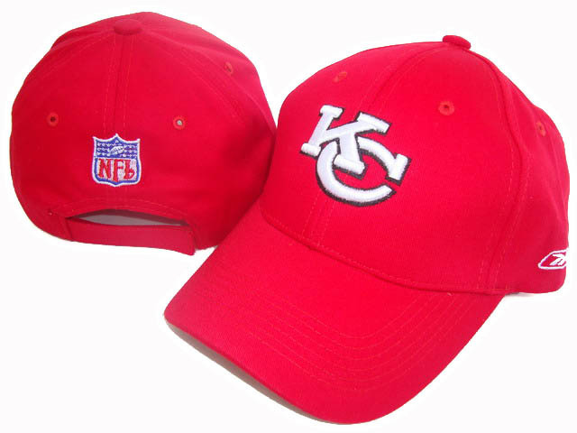 Kansas City Chiefs Red Peaked Cap DF1 0512
