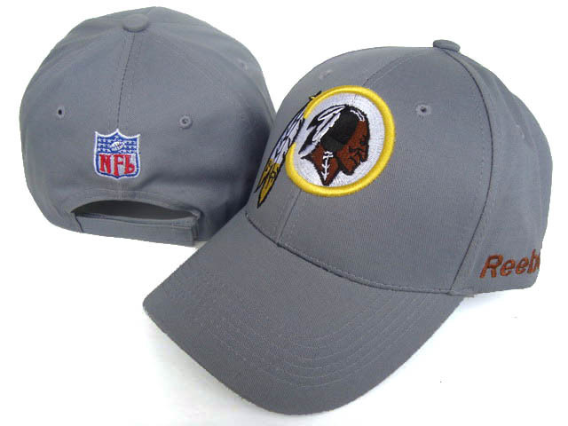 Washington Redskins Grey Peaked Cap DF 0512