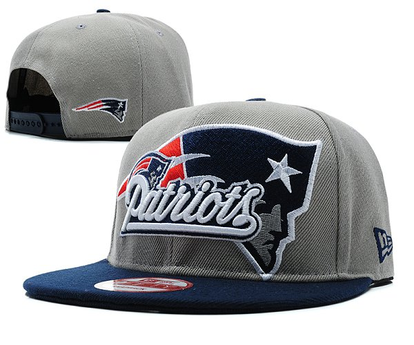 New England Patriots Snapback Hat SD 8505