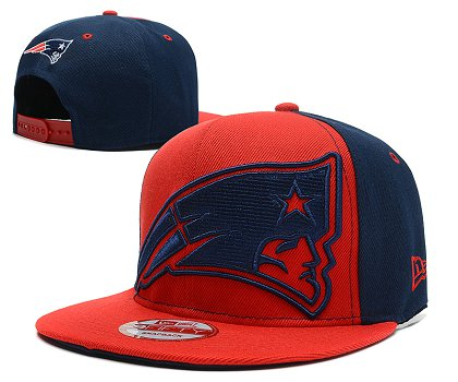 New England Patriots Snapback Hat 103SD 13