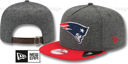 New England Patriots-Melton Snapback Hat SF 12