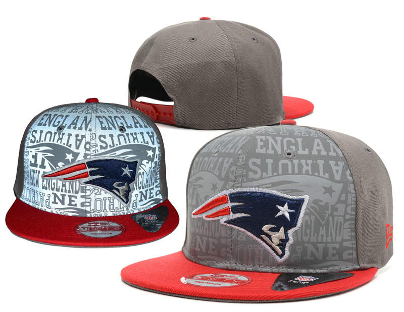 New England Patriots Reflective Snapback Hat SD 0721