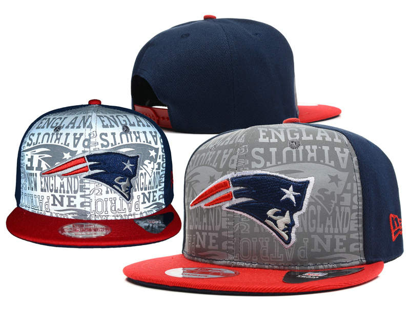 New England Patriots 2014 Draft Reflective Snapback Hat SD 0613