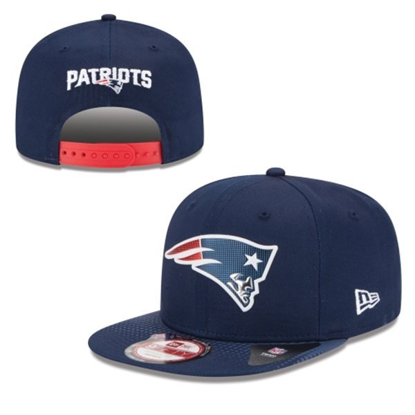 New England Patriots Snapback Navy Hat 1 XDF 0620