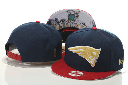 New England Patriots Snapback Navy Hat GS 0620