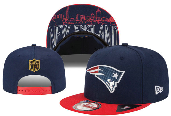 New England Patriots Snapback Navy Hat XDF 0620