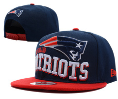 New England Patriots NFL Snapback Hat SD5